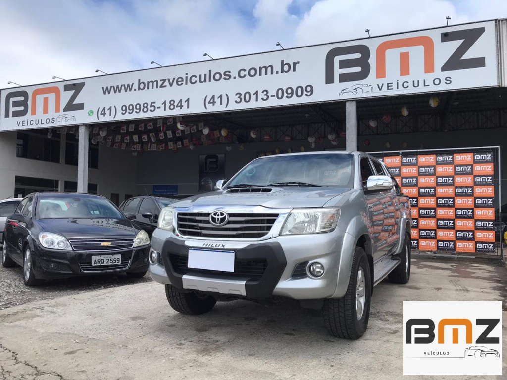 HILUX 3.0 SRV 4X4 CD 16V TURBO INTERCOOLER DIESEL 4P AUTOMÁTICO