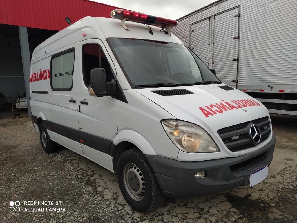 Imagem do veículo SPRINTER 2.2 VAN 415 CDI TETO ALTO DIESEL ambulancia