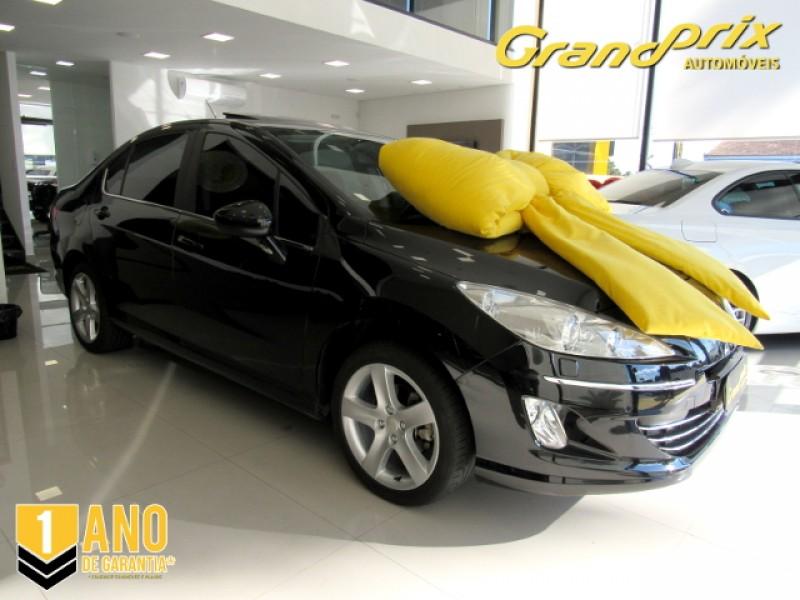 408 GRIFFE  2012 2.0 16V FLEX 4P AUTOMÁTICO COMPLETO + TETO SOLAR!