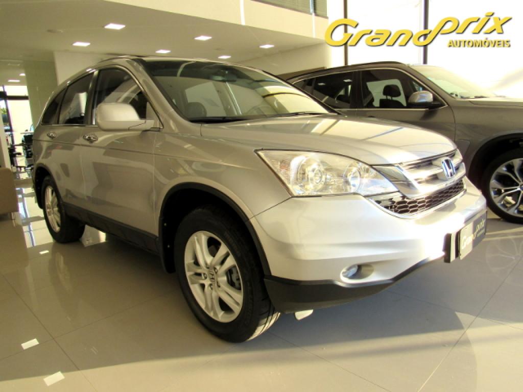 CRV 2011 2.0 EXL 4X4 16V GASOLINA 4P AUTOMÁTICA PRATA COMPLETA + TETO SOLAR!