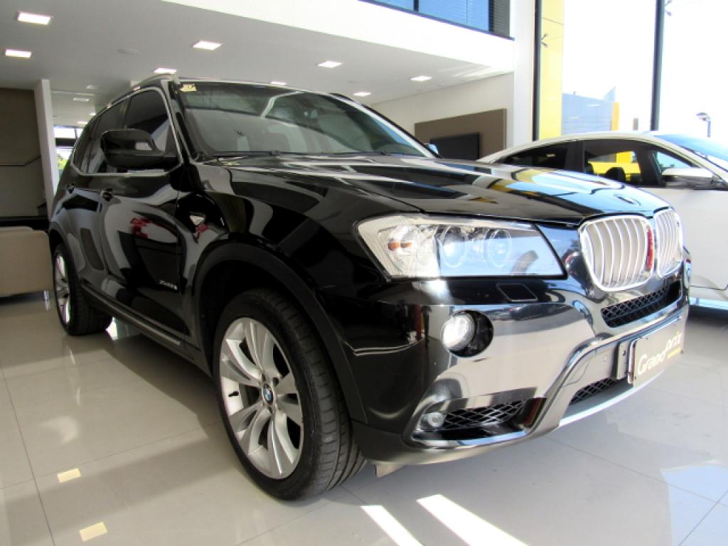 BMW X3 2011 3.0 35I 4X4 24V GASOLINA 4P AUTOMÁTICO TOP DE LINHA!