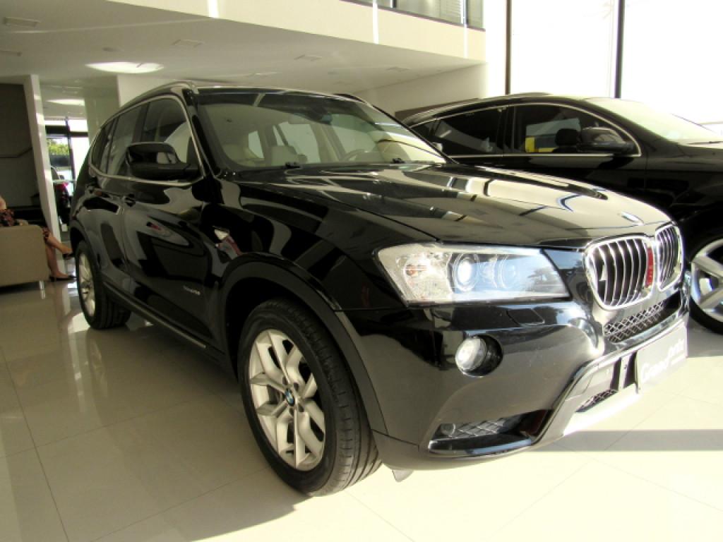 BMW X3 2013 2.0 20I 4X4 16V GASOLINA 4P AUTOMÁTICA PRETA COMPLETA TOP DE LINHA!