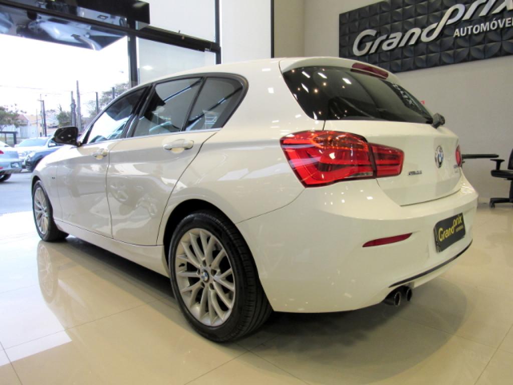 Imagem do veículo BMW 120i 2016 2.0 16V SPORT ACTIVEFLEX 4P AUTOMÁTICA BRANCA COMPLETA TOP DE LINHA!