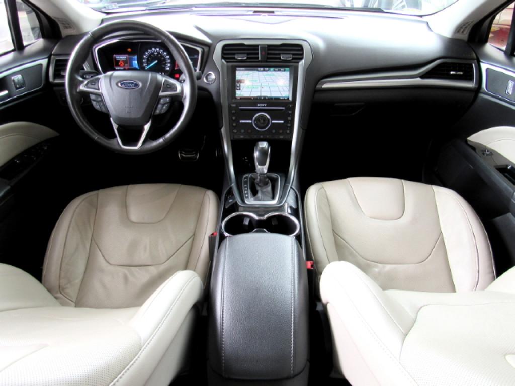 Imagem do veículo FUSION 2016 2.0 TITANIUM AWD 16V GASOLINA 4P AUTOMÁTICO BRANCO COMPLETO + TETO SOLAR!
