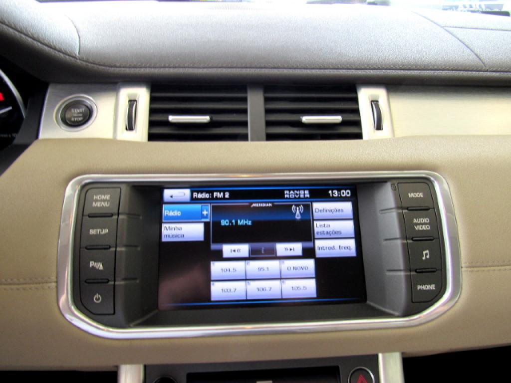 Imagem do veículo EVOQUE 2012 2.0 PURE 4WD 16V GASOLINA 4P AUTOMÁTICA PRETA COMPLETA ÚNICO DONO!