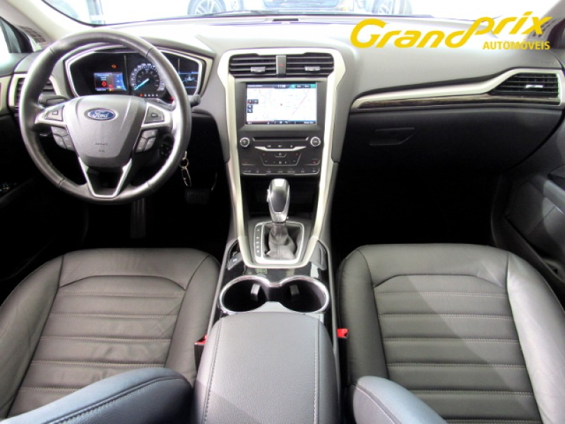 Imagem do veículo FUSION 2014 2.5 16V FLEX 4P AUTOMÁTICO PRATA COMPLETO + BANCOS EM COURO!