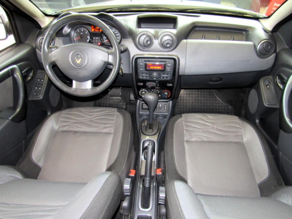 Imagem do veículo DUSTER 2013 2.0 DYNAMIQUE 4X2 16V FLEX 4P AUTOMÁTICA PRATA COMPLETA ÚNICO DONO!