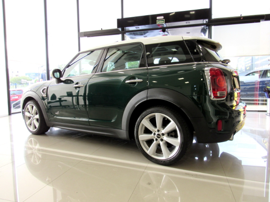Imagem do veículo MINI COUNTRYMAN 2017 2.0 16V TWINPOWER TURBO GASOLINA COOPER S ALL4 STEPTRONIC VERDE COMPLETO + TETO SOLAR!