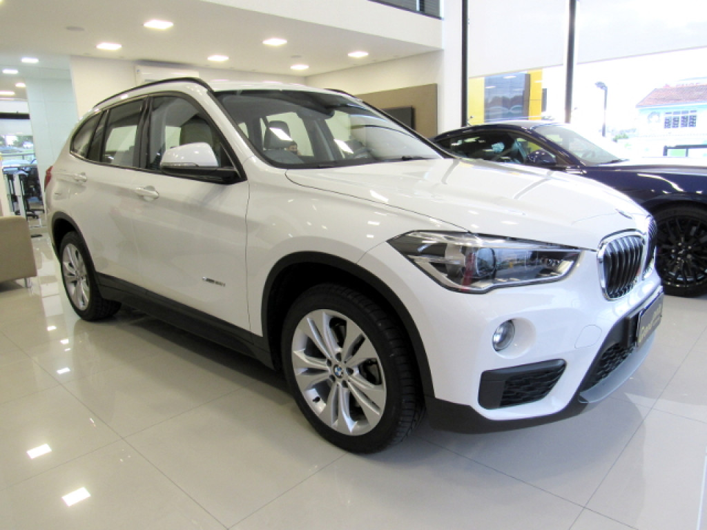 BMW X1 2018 2.0 16V TURBO ACTIVEFLEX SDRIVE20I 4P AUTOMÁTICA BRANCA COMPLETA ÚNICO DONO!