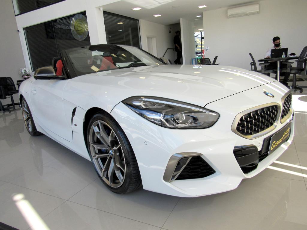 BMW Z4 2020 3.0 TWINPOWER GASOLINA M40I STEPTRONIC BRANCA TOP DE LINHA COM APENAS 6.000 KM!!!