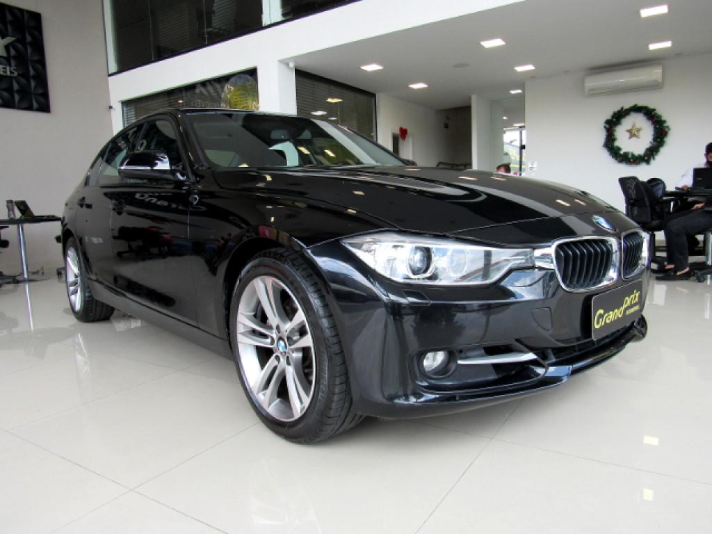 BMW 328i 2015 2.0 SPORT GP 16V ACTIVEFLEX 4P AUTOMÁTICA PRETA COMPLETA + TETO SOLAR!