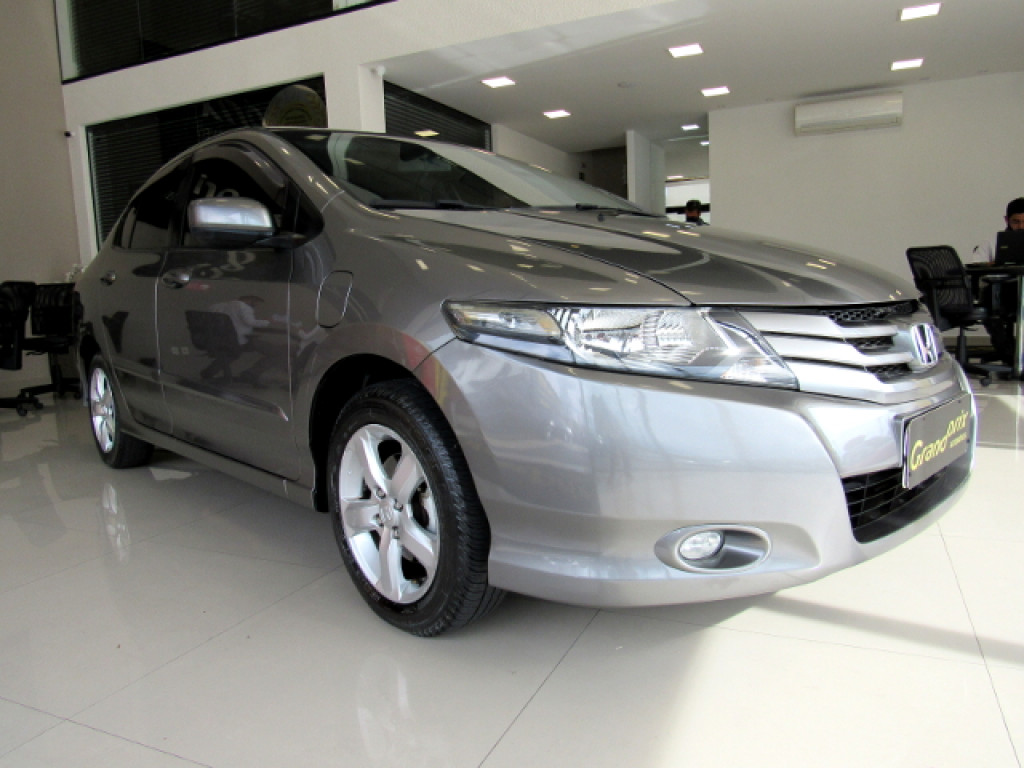 HONDA CITY 2011 1.5 DX 16V FLEX 4P MANUAL CINZA COMPLETO ÚNICO DONO!