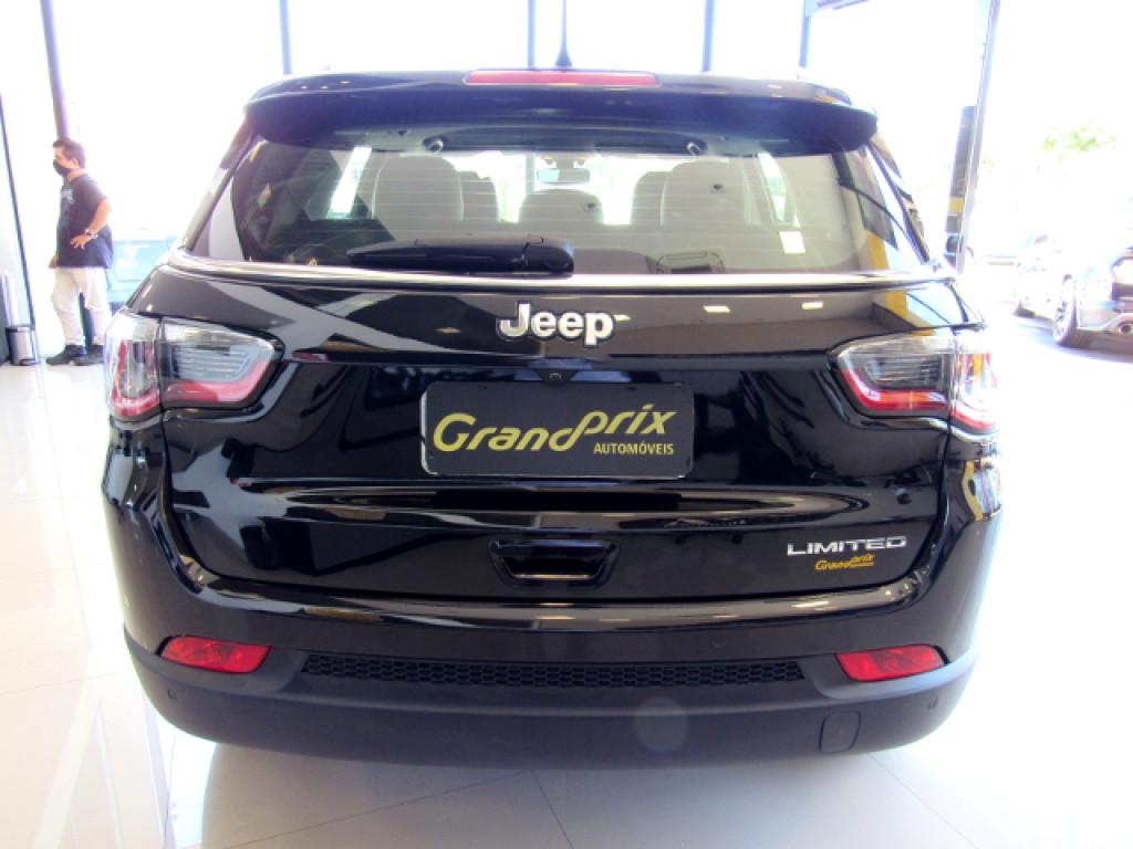 Imagem do veículo JEEP COMPASS 2017 2.0 16V FLEX LIMITED AUTOMÁTICA PRETA COMPLETA + BANCOS EM COURO!