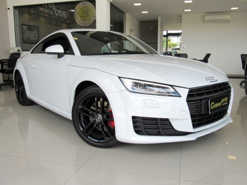 AUDI TT 2016 2.0 TFSI COUPÉ ATTRACTION 2P GASOLINA S-TRONIC BRANCO COMPLETO ÚNICO DONO!