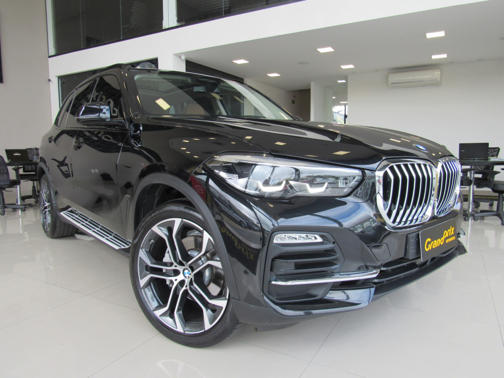 BMW X5 2019 3.0 4X4 30D I6 TURBO DIESEL 4P AUTOMÁTICA PRETA COMPLETA + TETO SOLAR!