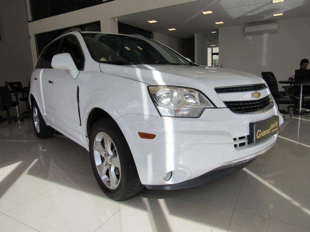 CAPTIVA 2013 3.0 SIDI AWD V6 24V GASOLINA 4P AUTOMÁTICA BRANCA TOP DE LINHA!