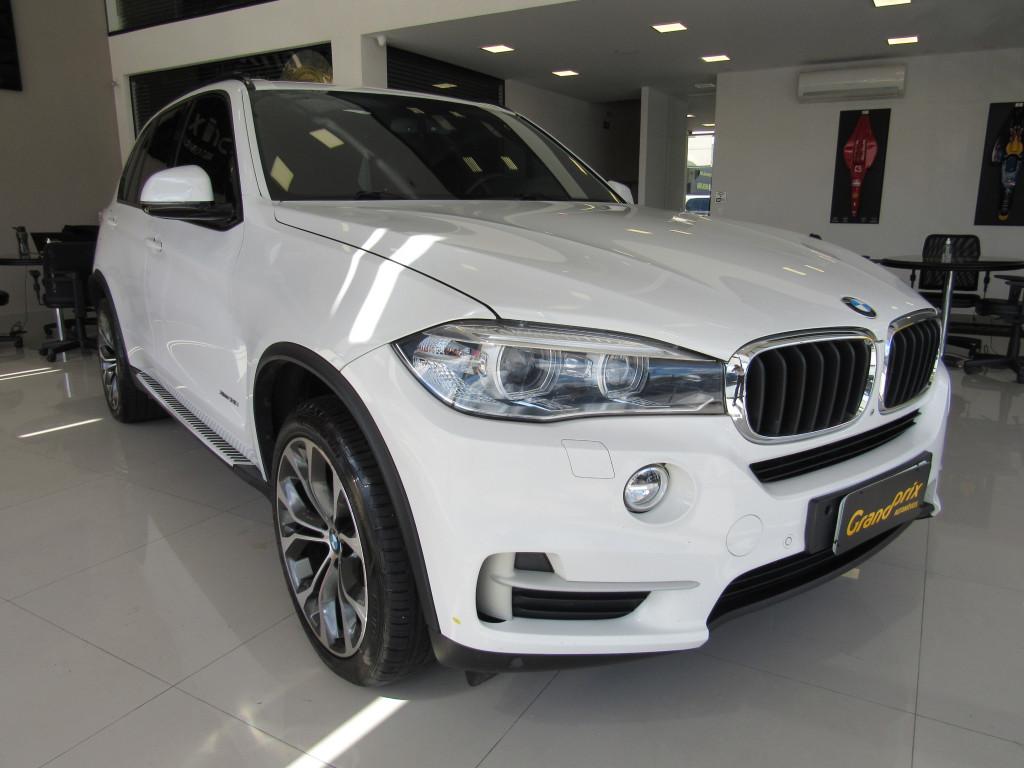 BMW X5 2016 3.0 FULL 4X4 35I 6 CILINDROS 24V GASOLINA 4P AUTOMÁTICA BRANCA COMPLETA + TETO SOLAR!