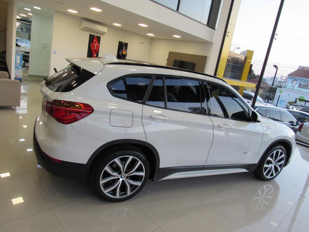 Imagem do veículo BMW X1 2018 2.0 16V TURBO ACTIVEFLEX XDRIVE25I SPORT 4P AUTOMÁTICA BRANCA COMPLETA + TETO SOLAR!