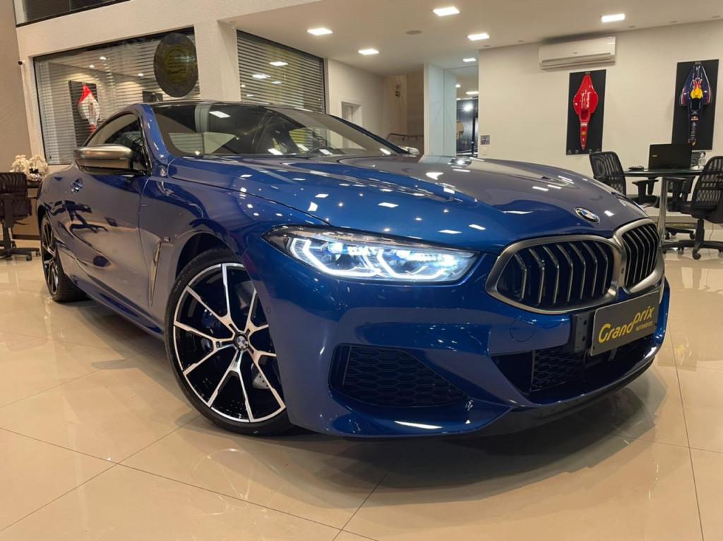 BMW M 850i 2020 4.4 V8 TWINPOWER GASOLINA XDRIVE STEPTRONIC AZUL TOP DE LINHA ÚNICO DONO!
