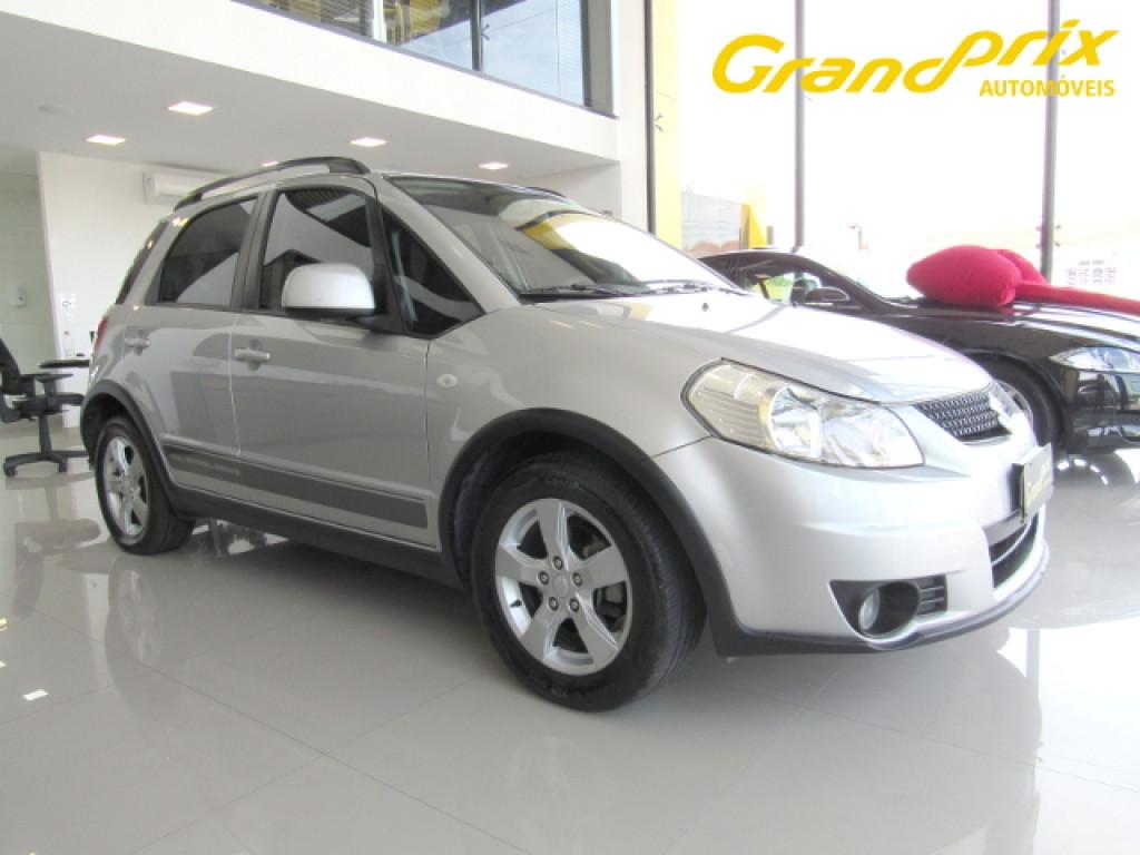 SUZUKI SX4 2012 2.0 4X4 16V GASOLINA 4P AUTOMÁTICO PRATA COMPLETO TOP DE LINHA!