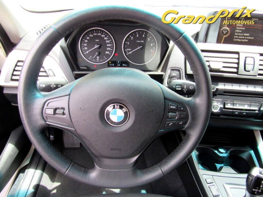 Imagem do veículo BMW 116i 2014 1.6 16V TURBO GASOLINA 4P AUTOMÁTICA BRANCA COMPLETA ÚNICO DONO!