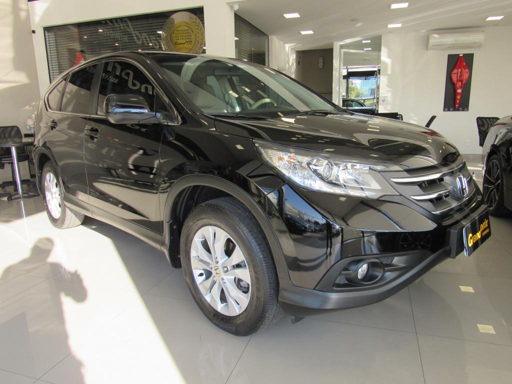 HONDA CRV 2013 2.0 LX 4X2 16V FLEX 4P AUTOMÁTICA PRETA COMPLETA ÚNICO DONO!