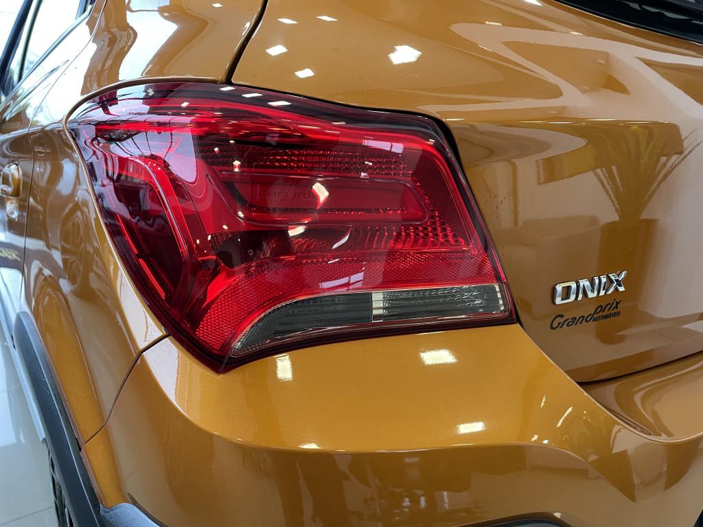 Imagem do veículo CHEVROLET ONIX 2019 1.4 MPFI ACTIV 8V FLEX 4P AUTOMÁTICO LARANJA COMPLETO ÚNICO DONO!