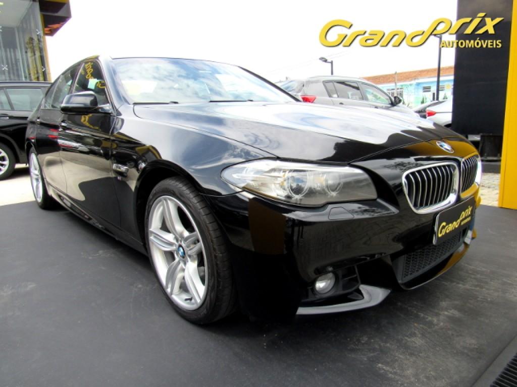 Imagem do veículo BMW 528i 2014 2.0 16V GASOLINA 4P AUTOMÁTICA PRETA COMPLETA + TETO SOLAR ÚNICO DONO!