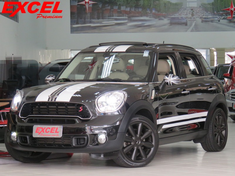 MINI COUNTRYMAN 1.6 S ALL4 4X4 16V 184CV TURBO GASOLINA 4P AUTOMÁTICO