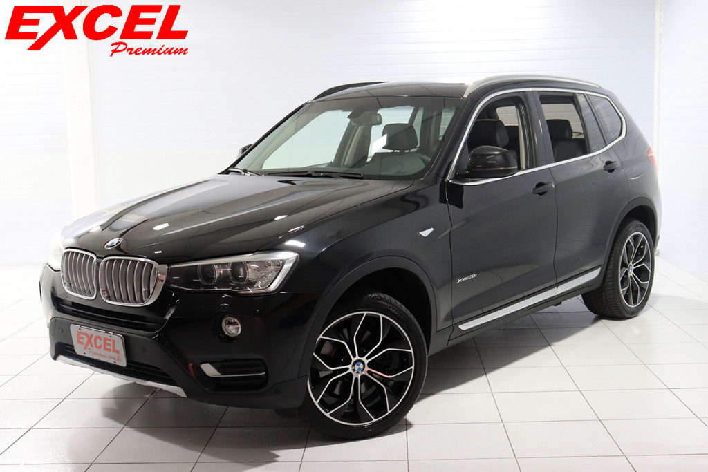 BMW X3 2.0 16V GASOLINA X LINE XDRIVE20I STEPTRONIC