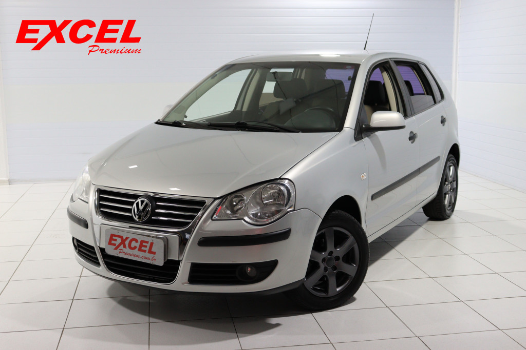 VOLKSWAGEN POLO 1.6 8V FLEX 4P MANUAL