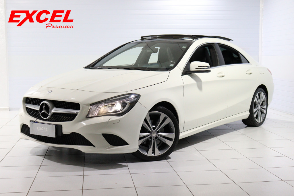 MERCEDES-BENZ CLA 200 1.6 FIRST EDITION TURBO GASOLINA 4P AUT